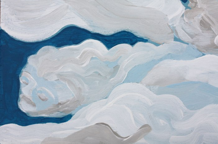 """Cloud Spirits II"" (detail)"