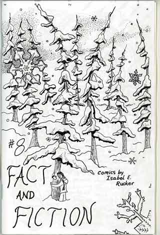 Fact and Fiction #8 cover.