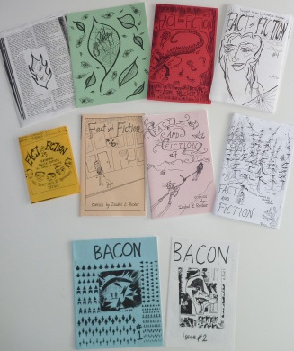 Fact and Fiction, Bacon zines.